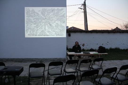 Artist talk: Dan Perjovschi COMMON Lia Perjovschi SENSE