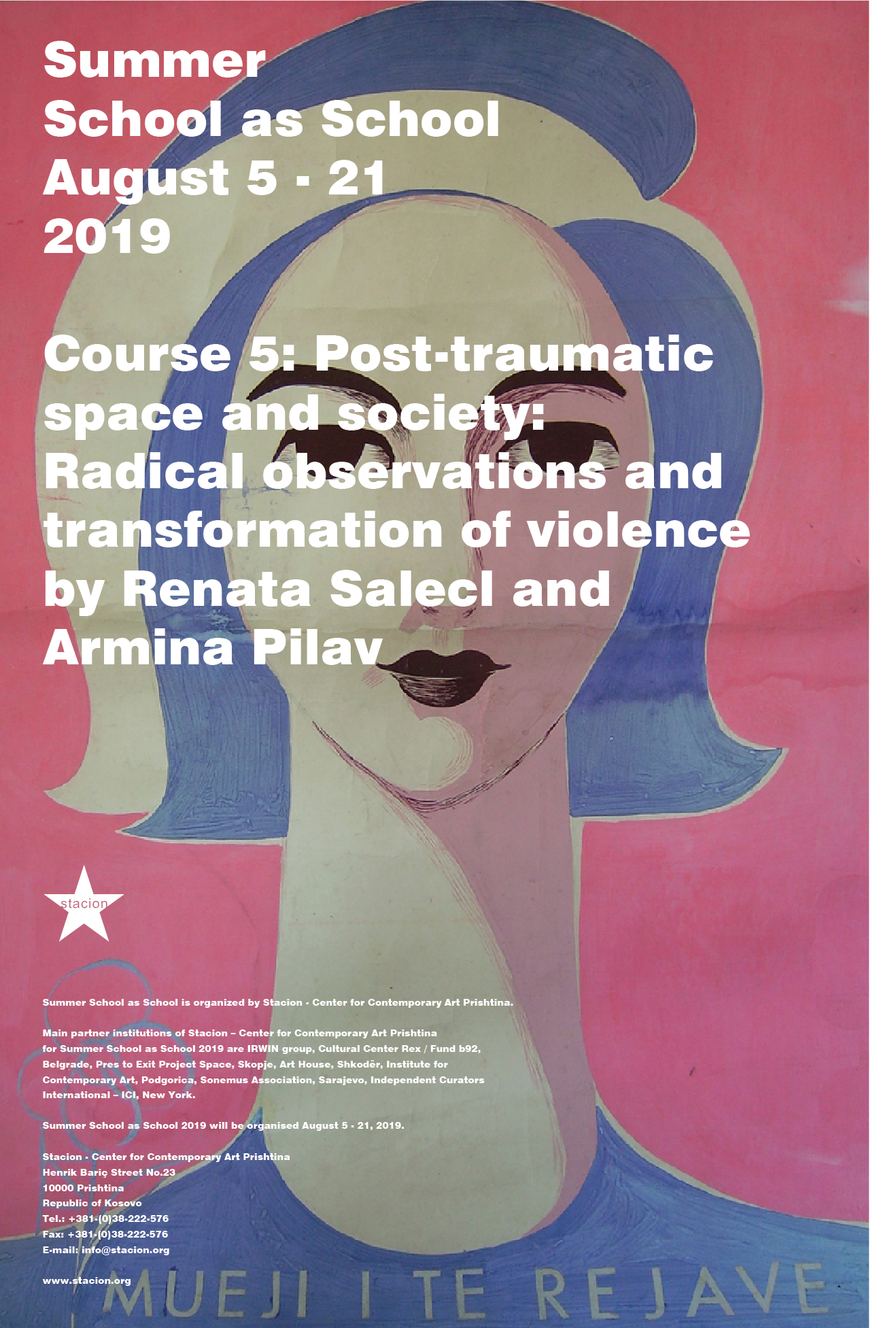 Course 5: Post-traumatic Space and Society: Radical observations and transformation of violence