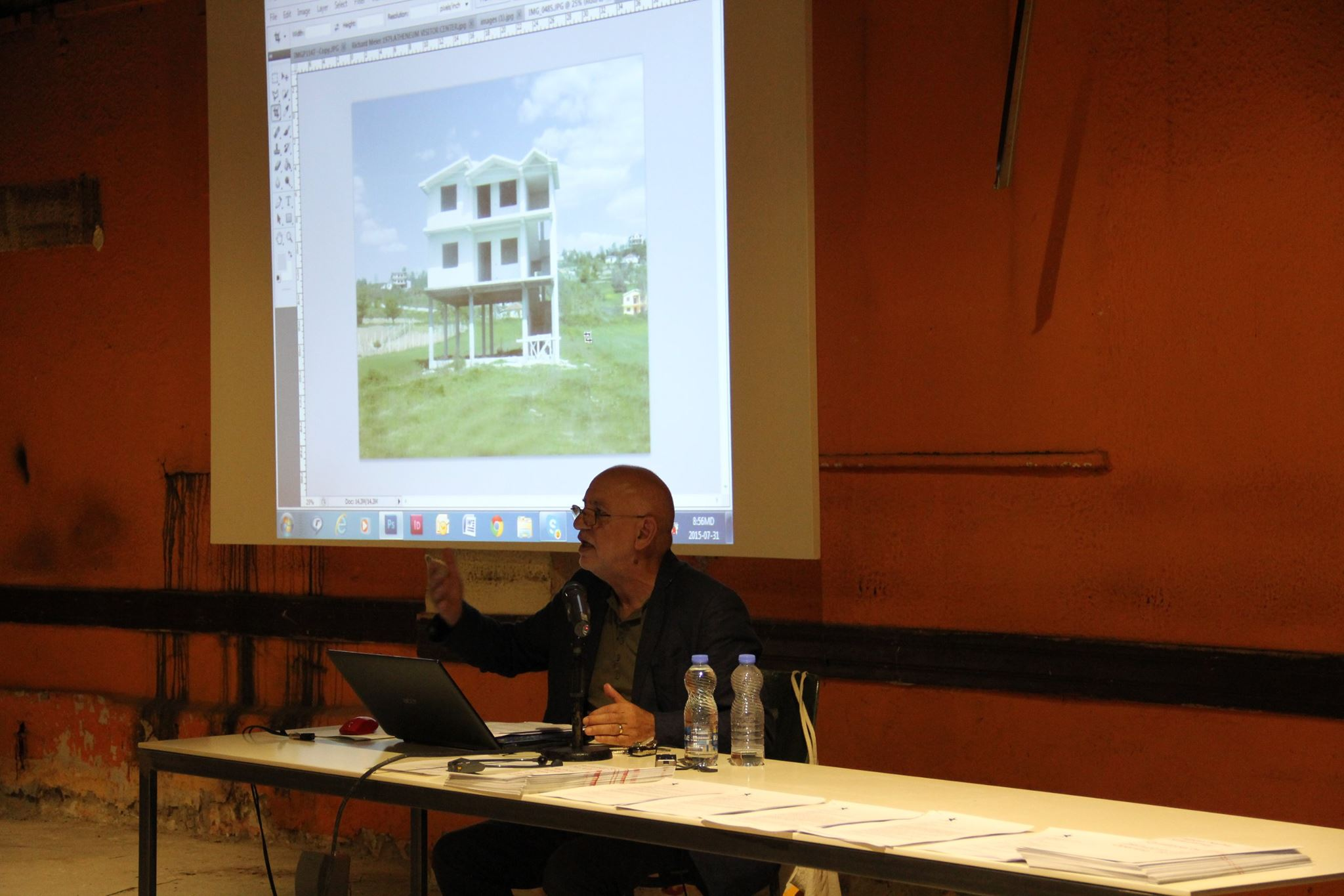 "A talk about the project ""Penthouse"" 2014"