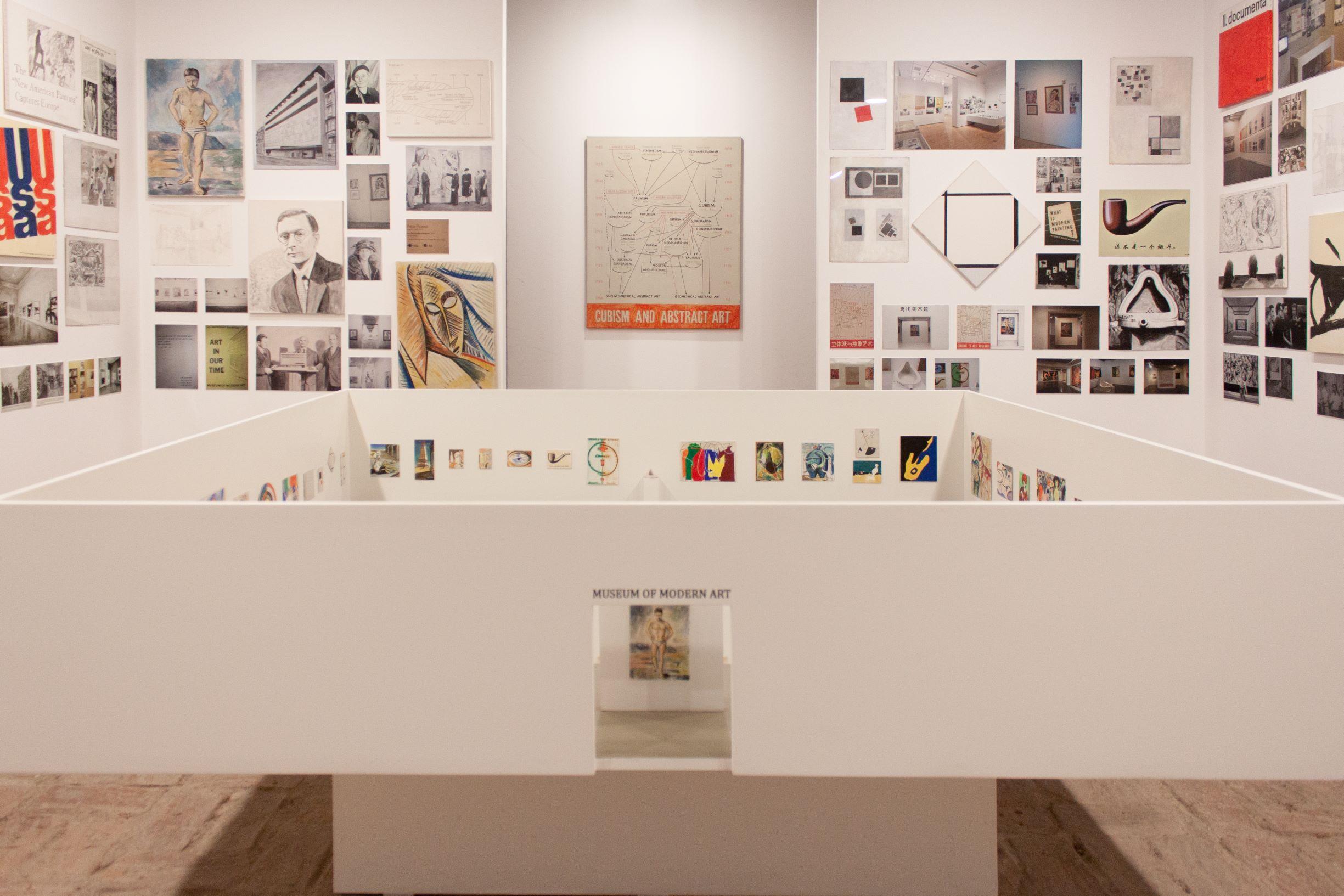 The permanent exhibition